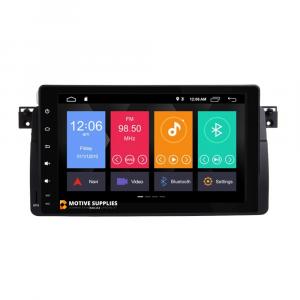 Navigatie scherm met Android 9.0 inch touch screen voor BMW 3 Serie (E46)