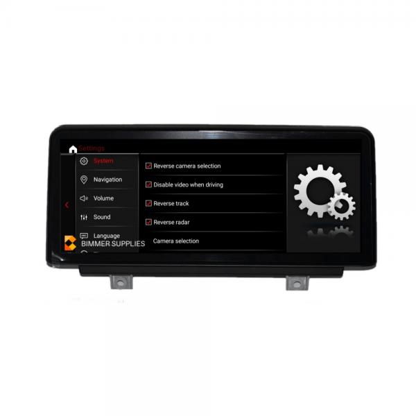 Android Scherm voor BMW 1 Serie F20 F21 en 2 Serie F22 F32 F87 Bimmersupplies