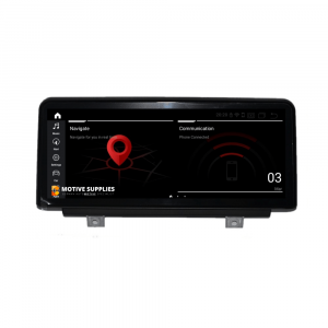 Navigatie scherm met Android 10 en 10.25′ inch touch screen voor BMW 4 Serie (F32, F33, F36, F82 & F83)