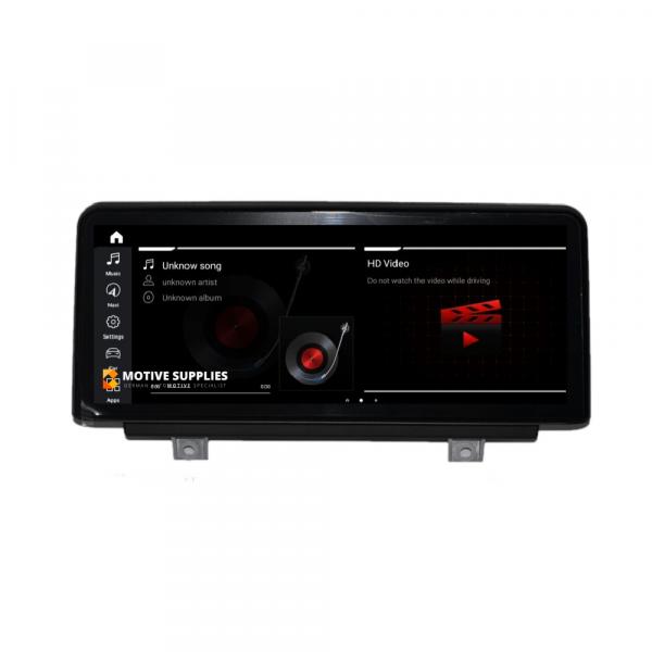 Android headunit BMW 3 series F30, F31, F34, F80 & 4 Series F32, F33, F36, F82, F83 10.25 - Motivesupplies