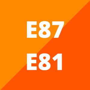 E87 en E81 (hatchback 2003 - 2011)