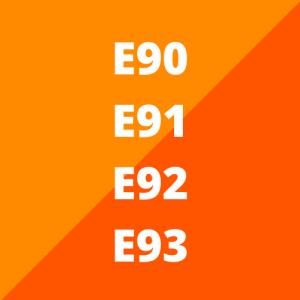 E90, E91, E92 en E93 (2005 - 2012)