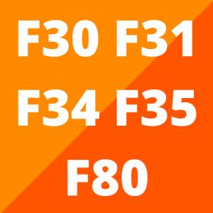 F30, F31, F34, F35 en F80 (2012 - 2019)