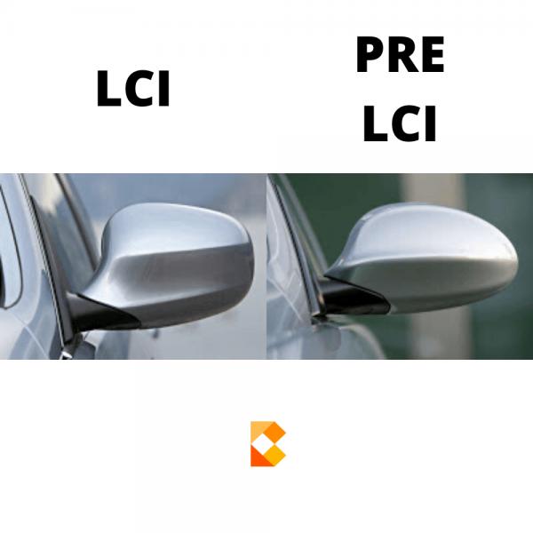Bimmersupplies Mirror Cover LCI vs PRE LCI e87 e88 e82 e81