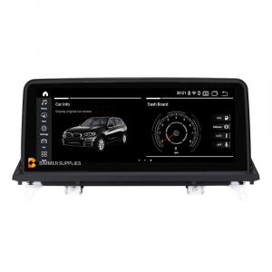Navigatie scherm met Android 10.25 inch touch screen voor BMW X6 (2008-2014) (E71 & E72)