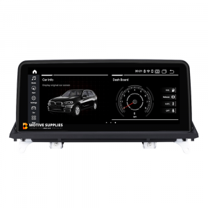 Navigatie scherm met Android 10 en 10.25′ inch touch screen voor BMW X6 (E71 & E72)