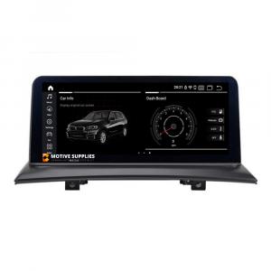 Navigatie scherm met Android 10 en 10.25′ inch touch screen voor BMW X3 (E83)