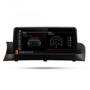Navigatie scherm met Android 10.25 inch touch screen 'top mount' voor BMW X3 (F25)