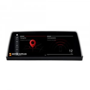 Navigatie scherm met Android 10 en 10.25′ inch touch screen XXL  'on dash' voor BMW 5 Serie (E60 & E61)
