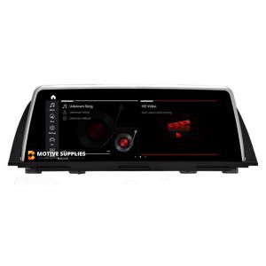 Navigatie scherm met Android 10 en 10.25′ inch touch screen 'on dash' voor BMW 5 Serie (F10 & F11)