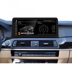 Navigatie scherm met Android 10 en 12.3′ inch touch screen XXL  'on dash' voor BMW 5 Serie (F10 & F11)