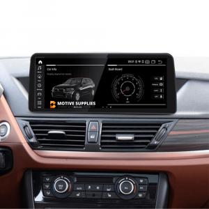Navigatie scherm met Android 10 en 12.3′ inch touch screen XXL voor BMW X1 (E84)