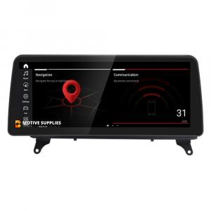 Navigatie scherm met Android 10 en 12.3′ inch touch screen XXL voor BMW X5 (E70)