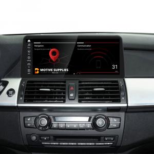 Navigatie scherm met Android 10 en 12.3′ inch touch screen XXL voor BMW X6 (E71 & E72)