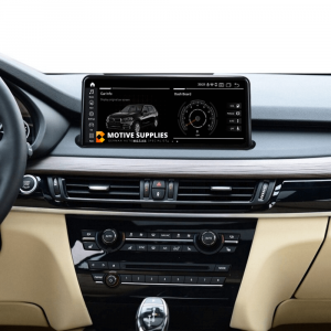 Navigatie scherm met Android 10 en 10.25′ inch touch screen voor BMW X6 (F16)