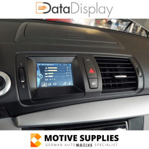 DataDisplay voor BMW 1 Serie (E88, E87, E82 & E81)