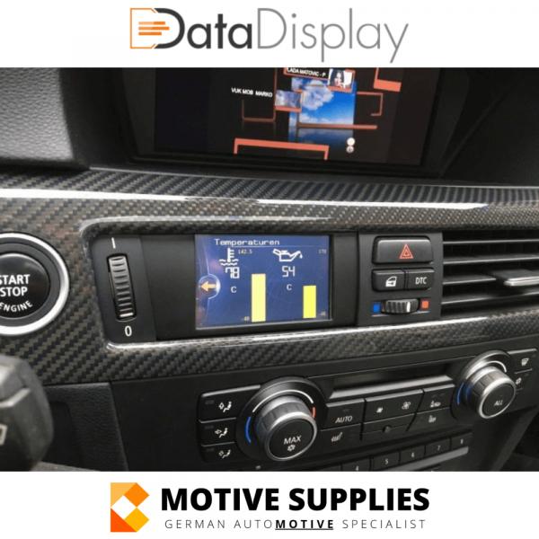 Datadisplay for BMW 3 Serie E90, E91, E92 & E93 - Motivesupplies