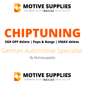 Chiptuning – ECU Remap – Pop Bangs – EGR OPF Delete