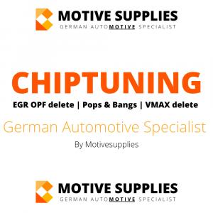 Chiptuning – ECU Remap – Pop Bangs – EGR OPF Delete