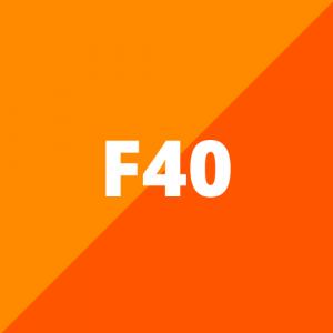 F40 (vanaf 2019)