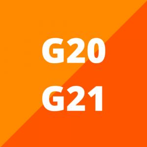 G20 en G21 (vanaf 2018)
