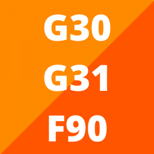 G30, G31 en F90 (vanaf 2016)