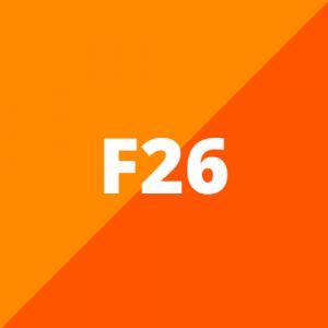 F26 (2014 - 2018)
