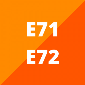 E71 en E72 (2008 - 2014)