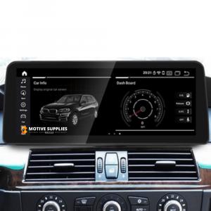 Navigatie scherm met Android 10 en 12.3′ inch touch screen XXL  'on dash' voor BMW 5 Serie (E60 & E61)