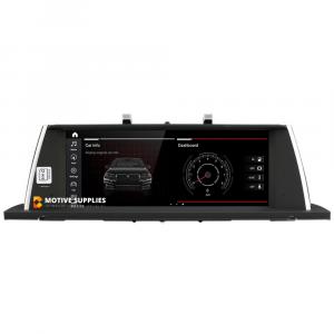 Navigatie scherm met Android 10 en 10.25′ inch touch screen voor BMW 5 Serie GT (F07)