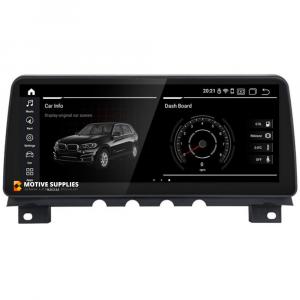 Navigatie scherm met Android 10 en 12.3′ inch touch screen XXL  'on dash' voor BMW 7 serie (F01)