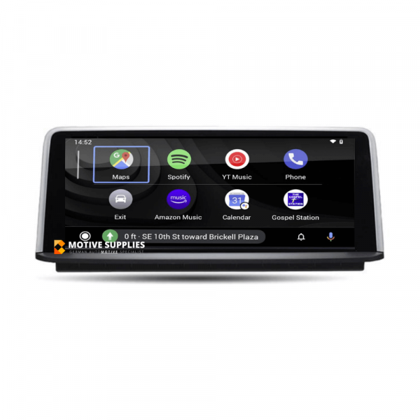 Carplay Android Auto Screen 8.8 inch for BMW 1 Series, 2 Series, 3 Series & 4 Series (F20, F21, F22, F23, F87, F30, F31, F34, F80, F32, F33, F36, F82 & F83) - Motivesupplies