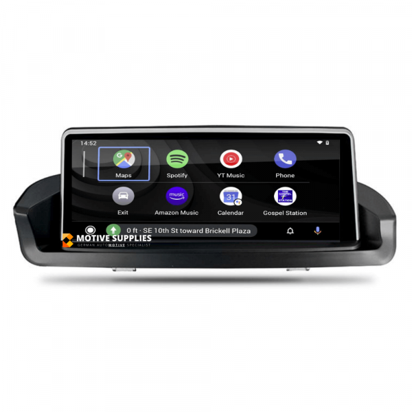 Carplay Android Auto Screen for BMW 3 Series (E90, E91, E92 & E93) without OEM monitor - Motivesupplies
