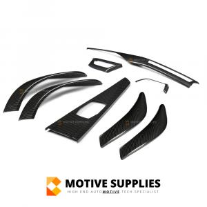 Carbon Interieur Trim Lijsten (Covers)  – BMW 4 Serie (+ M4) (F32, F33, F36, F82 & F83)