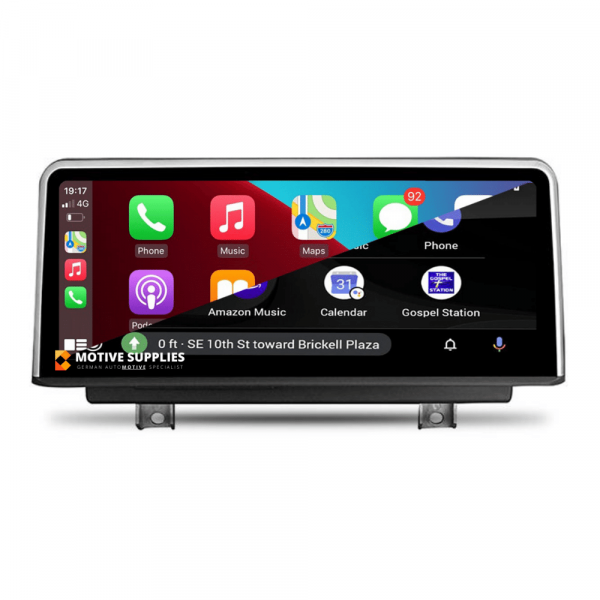 Carplay Android Auto Screen for BMW 1 Series, 2 Series, 3 Series & 4 Series (F20, F21, F22, F23, F87, F30, F31, F34, F80, F32, F33, F36, F82 & F83) 10.25' inch