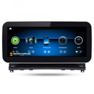 Navigatie scherm met Android 10 en 10.25′ of 12.3′ inch touch screen voor Mercedes C-Klasse (W204)