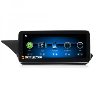 Navigatie scherm met Android 10 en 10.25′ of 12.3′ inch touch screen voor Mercedes E-Klasse (W212, A207 & C207)