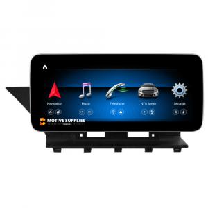Navigatie scherm met Android 10 en 10.25′ of 12.3′ inch touch screen voor Mercedes GLK-Klasse (X204)