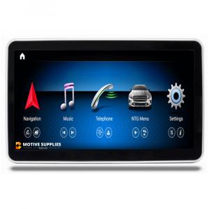 Navigatie scherm met Android 10 en 9′ inch touch screen voor Mercedes ML-Klasse (GLE) (W166 & C292)