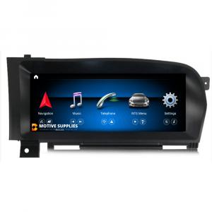 Navigatie scherm met Android 10 en 10.25′ inch touch screen voor Mercedes S-Klasse (W221)