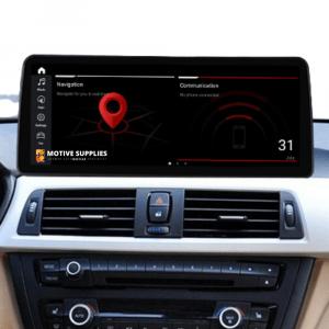 Navigatie scherm met Android 10 en 12.3' inch touch screen XXL voor BMW 3 Serie (F30, F31, F34, F35 & F80)