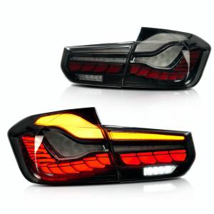 OLED Achterlichten GTS CS Style Black Optic Smoke voor BMW 3 Serie F30, F31 & M3 F80